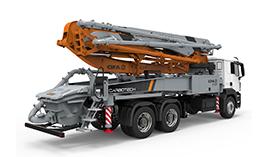 Bombas de hormigon | Distribucion de maquinas de construccion BARYSERV
