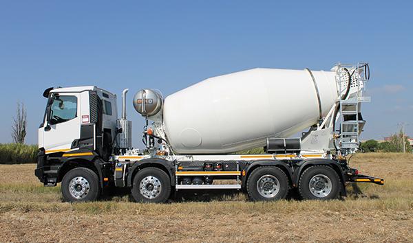 Camion Hormigonera   Distribucion de maquinas de construccion BARYSERV