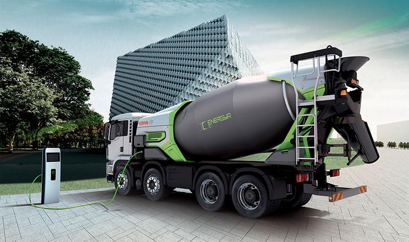 Camion Hormigonera | Distribucion de maquinas de construccion BARYSERV