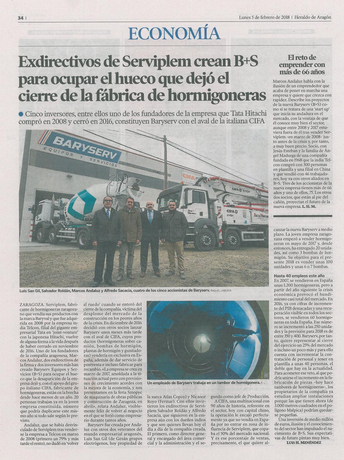 Camiones Hormigonera | Distribucion de maquinas de construccion BARYSERV