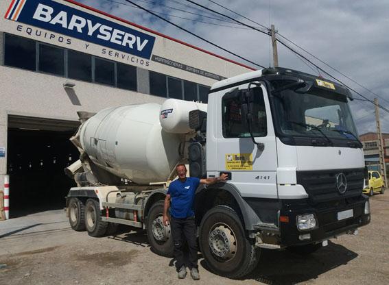 Servicio postventa de reparacion de camion hormigonera