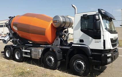 camion hormigonera